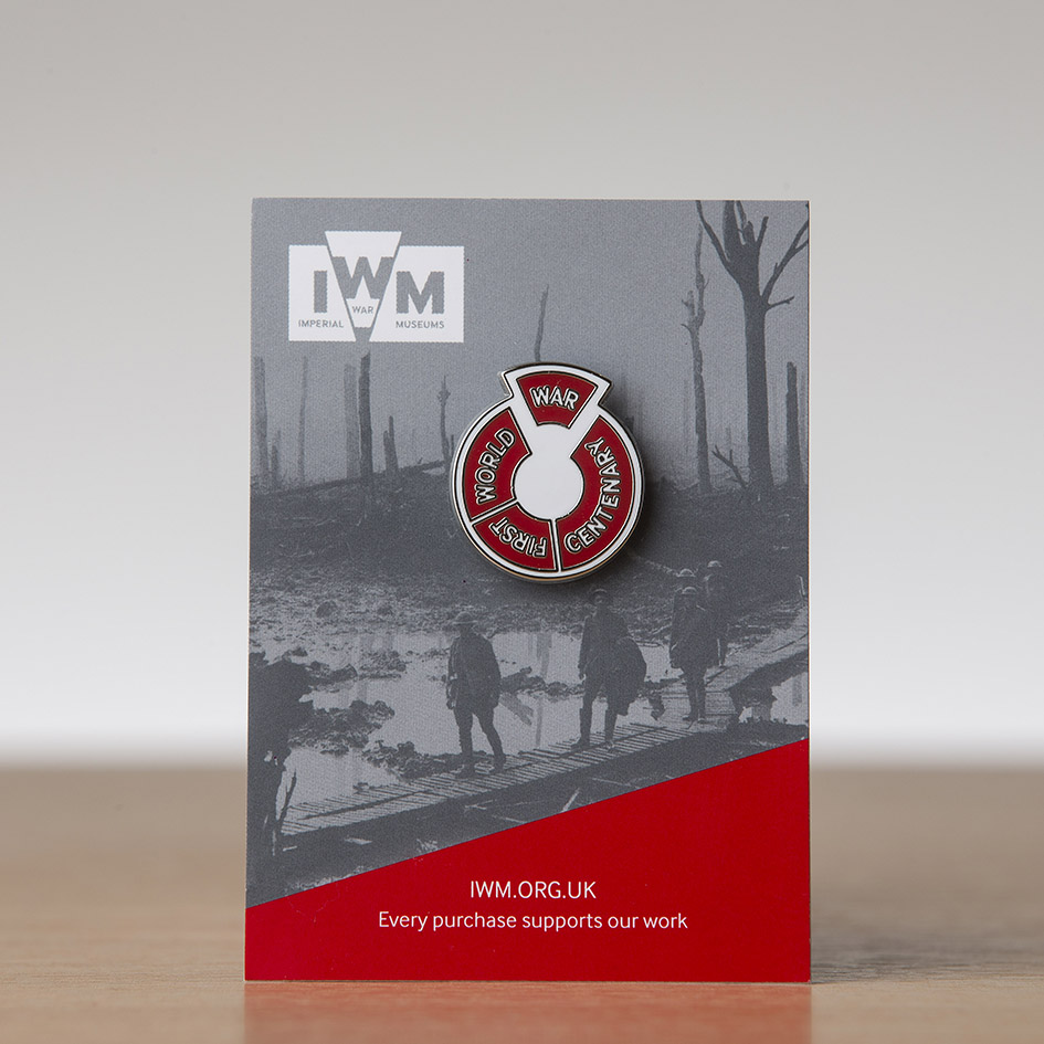 I.W.M Pin Badge